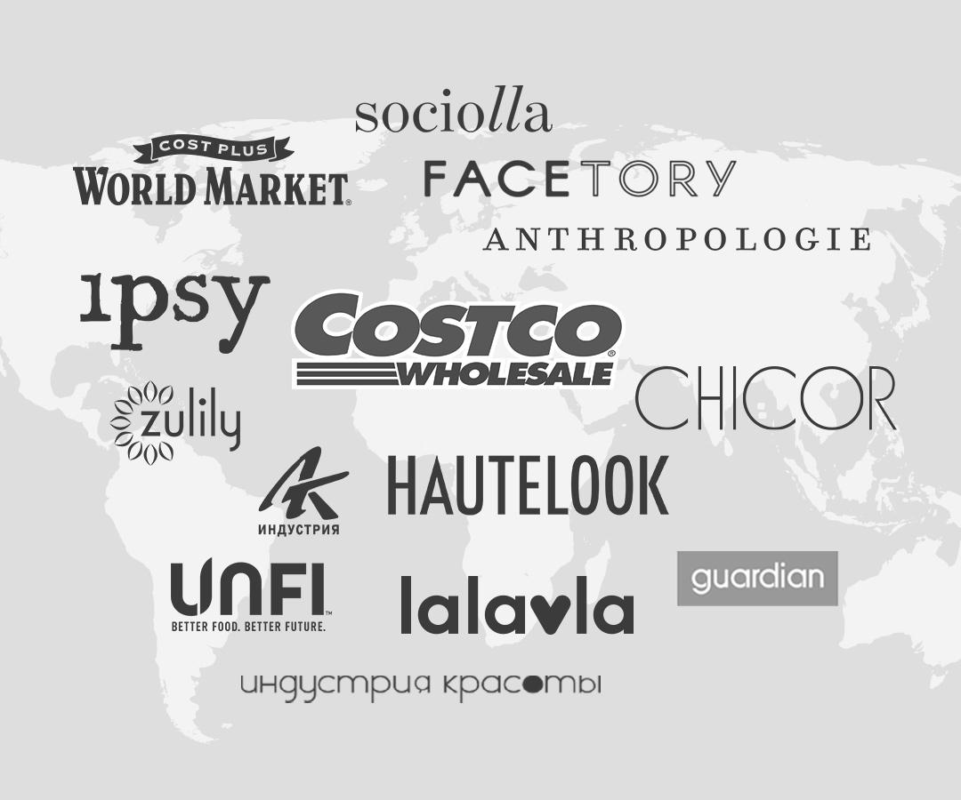 Global retailers
