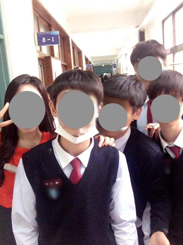 안녕 아이들아? (1학년 8반 화이팅!!!)