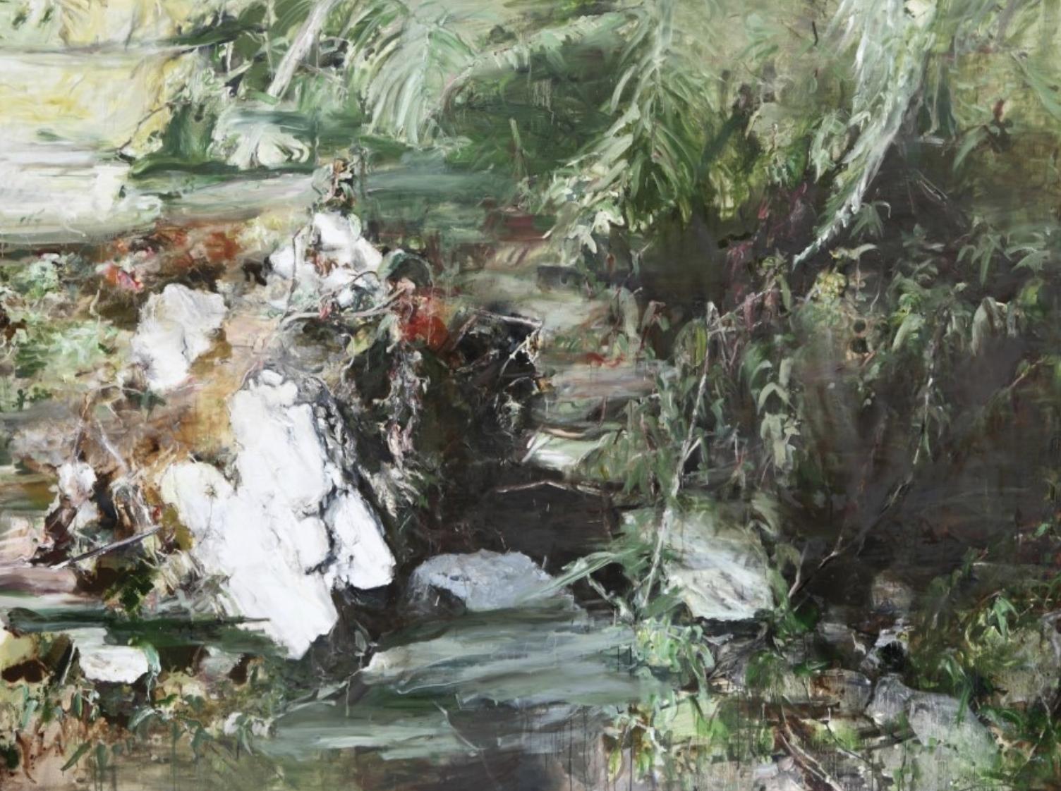 Skin Deep, 218x291cm / oil on canvas, 2014