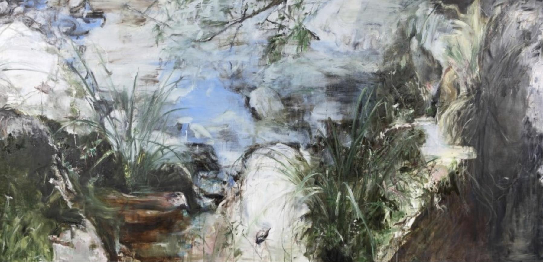 Skin Deep, 130x270cm / oil on canvas, 2014