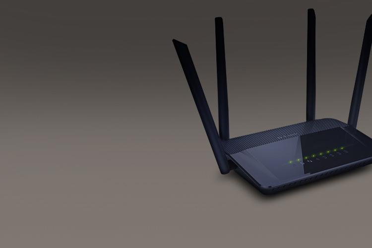 "<b><font size=""6px"">유무선공유기</font></b><br><br>WiFi 5 (802.11ac) 지원<br>다중 안테나 WiFi 커버리지 향상"