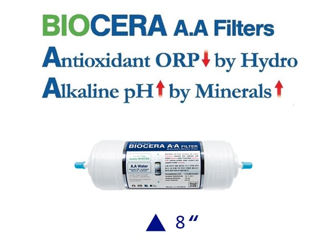 Biocera Antioxidant Alkaline 8 inch water filter