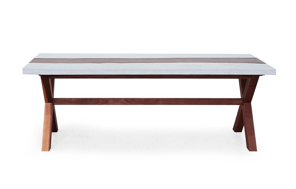Wood in Concrete 우드인콘크리트 테이블