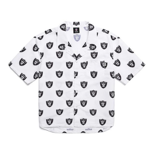 <br>F202MSH153 레이더스 리피트 로고 숏슬리브 셔츠 SNOW WHITE<br>75,000원