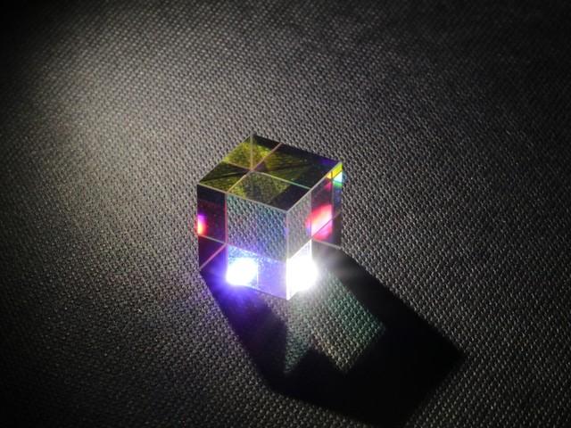 Glass Cube Beam Splitter