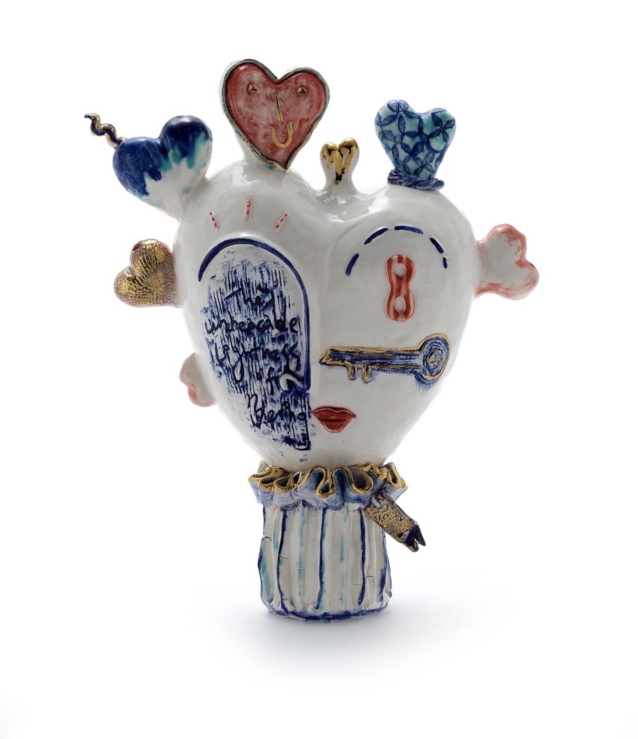Antiue wonderland series: tulip vase 18x25x35cm 백자, 수금 2019