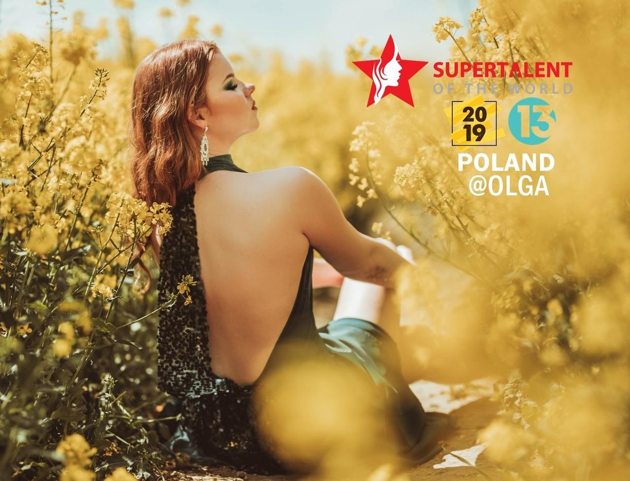 2019 Miss Supertalent POLAND Season 13<br>Olga, 174 cm, Age 22