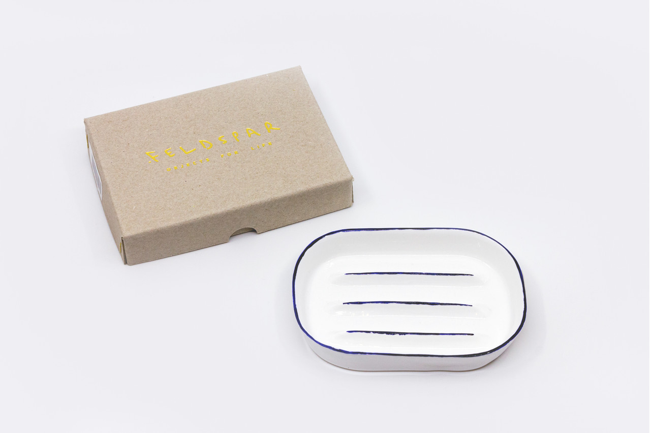 """<p style=""""font-family: freight-neo-pro, sans-serif; font-weight: 400; font-style: normal; color: black;"""">feldspar cobalt soap dish</p>"""
