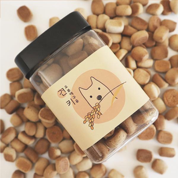 휴먼그레이드 국내산 강아지 건빵!!