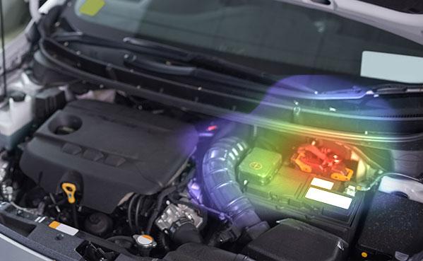 车辆组件的BSR噪声检测