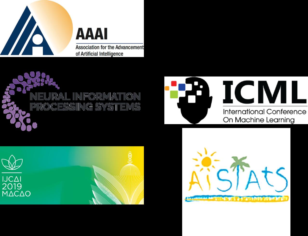 5대 국제 인공지능 학술대회