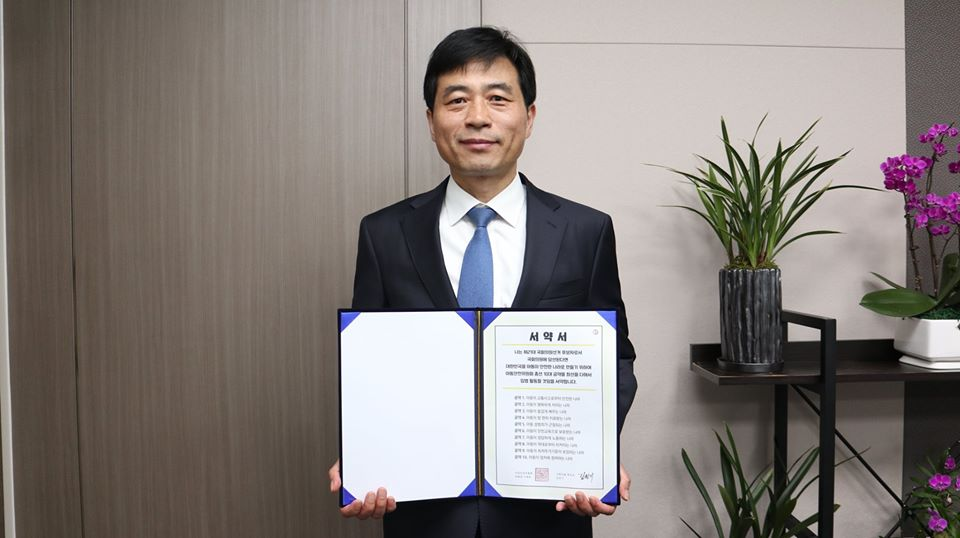 더불어민주당 용인시을 국회의원 후보자 김민기