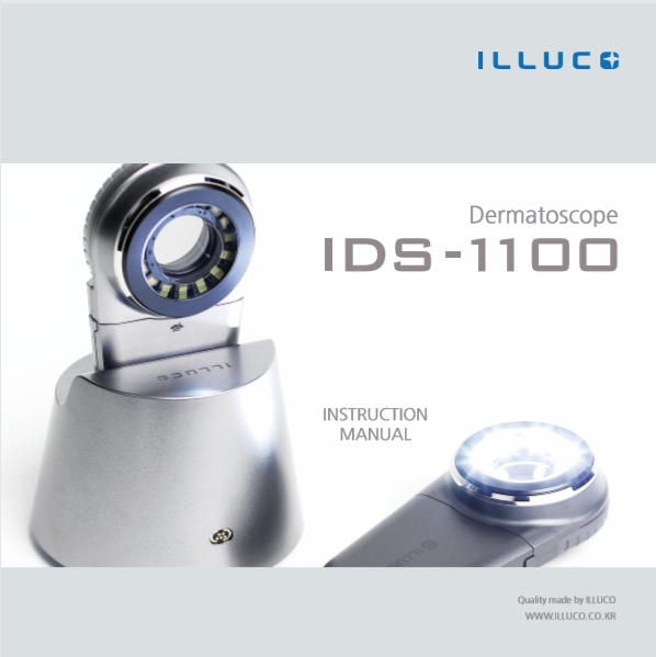 Dermatoscope IDS-1100 Manual (Español)