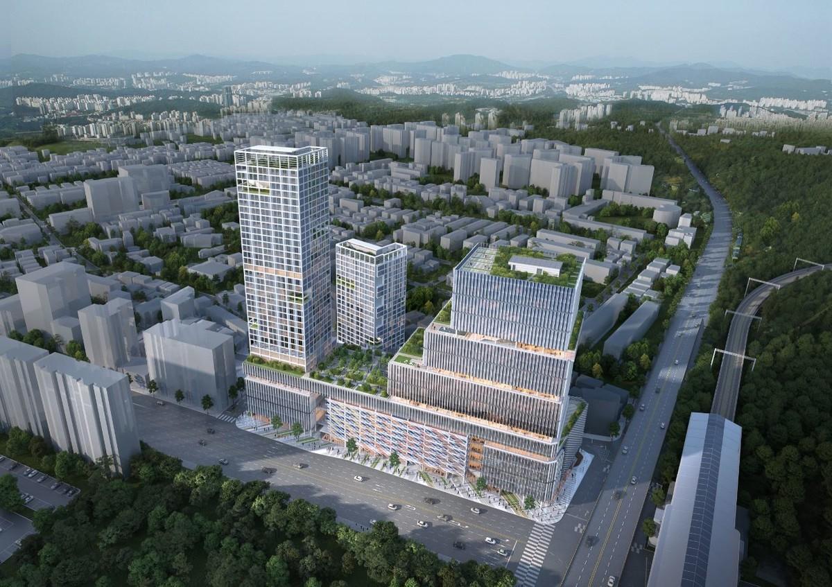 고양성사 도시재생 혁신지구 : 행림종합건축사사무소