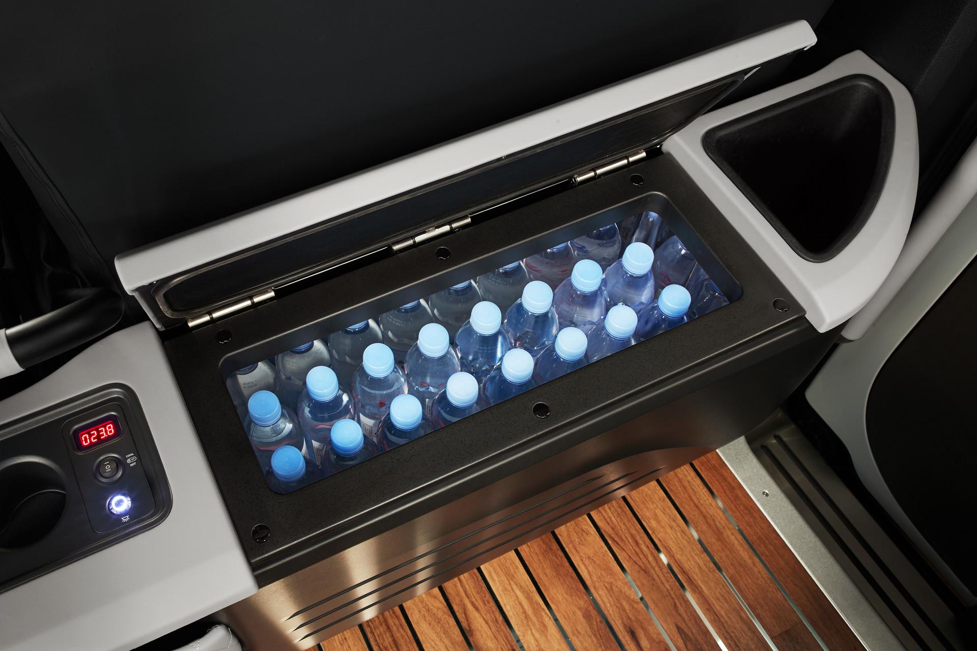 간단한 음료와 간식 저장이 가능한 냉.온장고