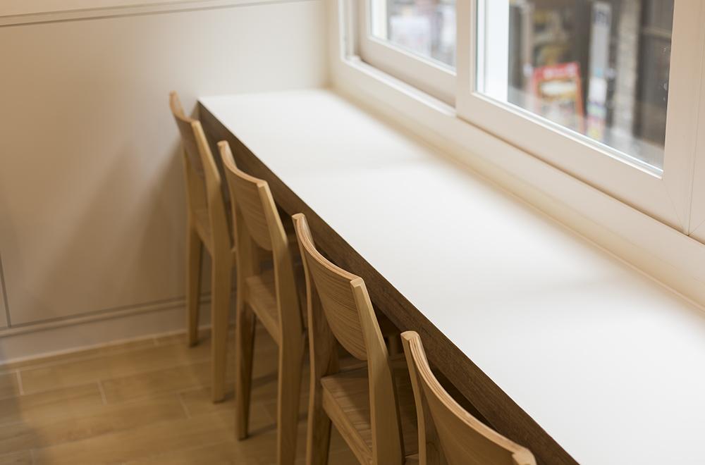 예화당 분식집 프리미엄분식 명동분식 의자 인테리어 강남인테리어 명동인테리어 서울인테리어