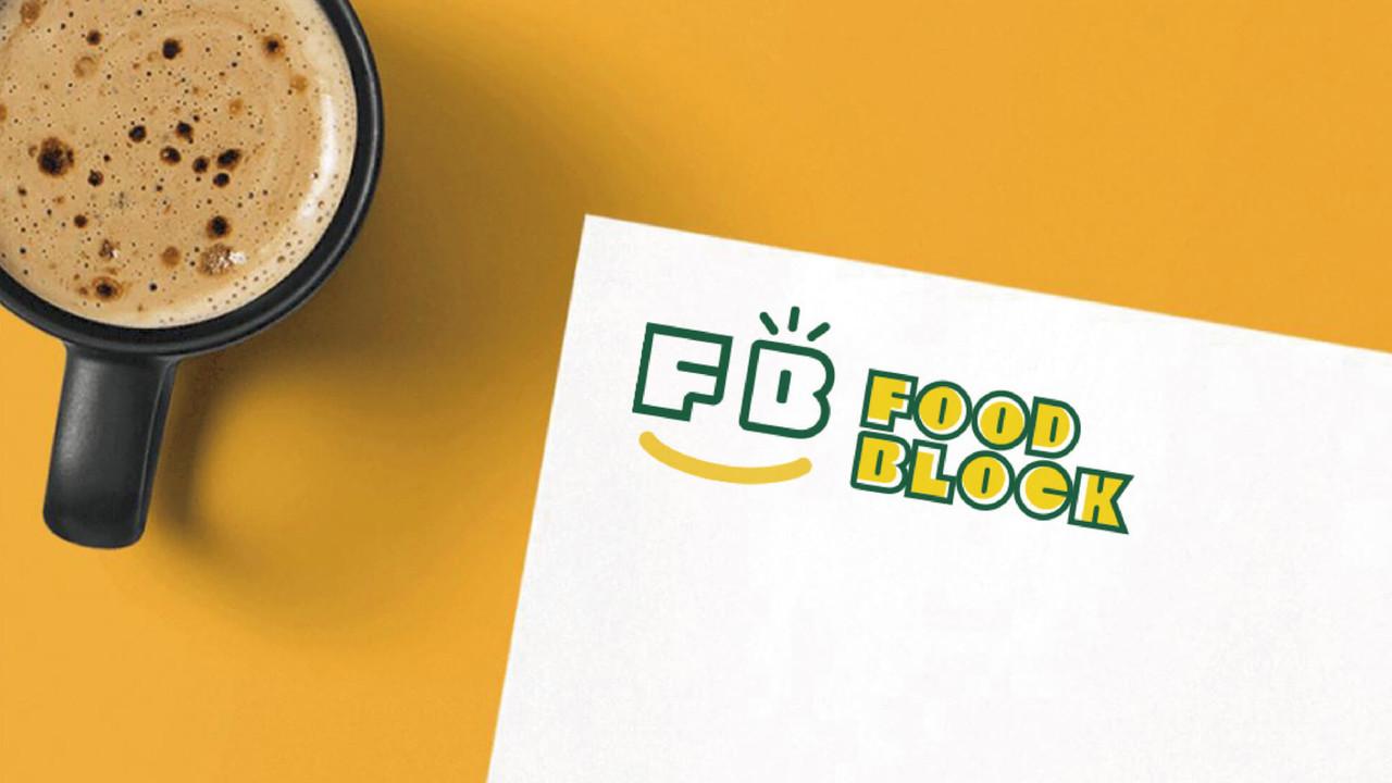 """<i class=""""fa fa-angle-left""""></i>FOOD BLOCK"""