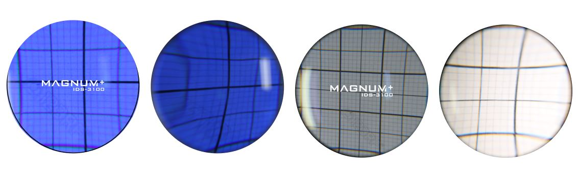 Distortion comparison [MAGNUM UV+]