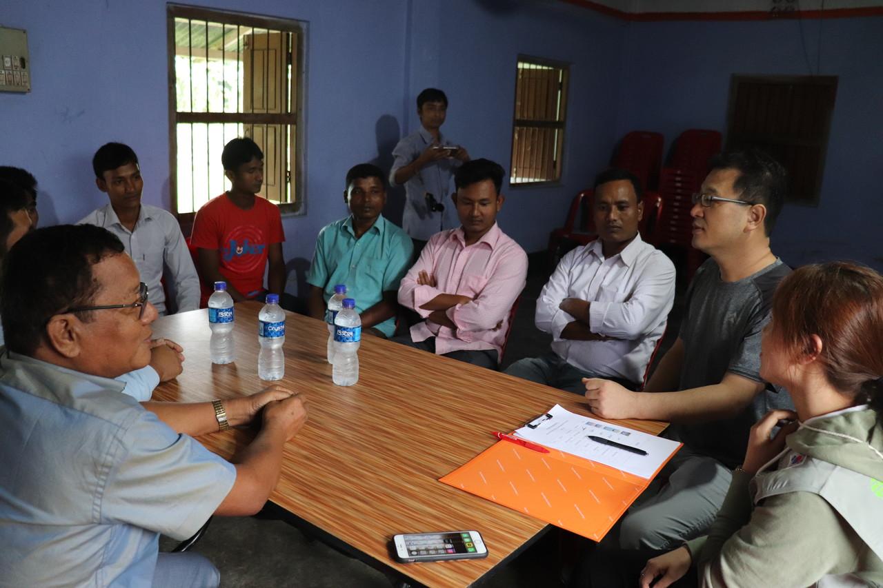 굿파머스 팀의 방글라데시 현장조사