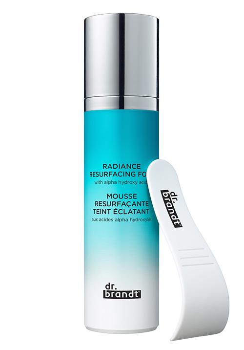 <b>닥터브랜트 래디언스 리서페이싱 폼</b><br>자극없이 각질을 관리하고 수분을 공급하여,<br>피부 고민을 개선해주는 산소 거품 마스크