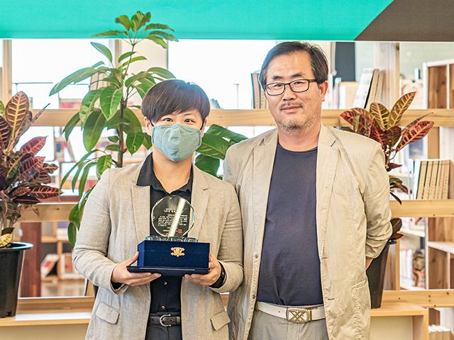2020년 5월 서울혁신파크 혁신어워즈 5주년 명예의 전당 수상 기념사진