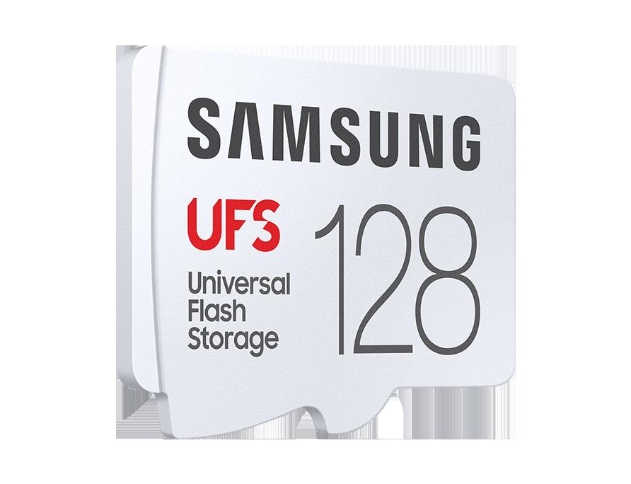 "UFS 메모리 카드 128GB<br />[MB-FA128G/APC]<br /><span style=""font-size:small; color:#737373;"">#차세대 외장 스토리지<br />#유니버설 플래시 스토리지"