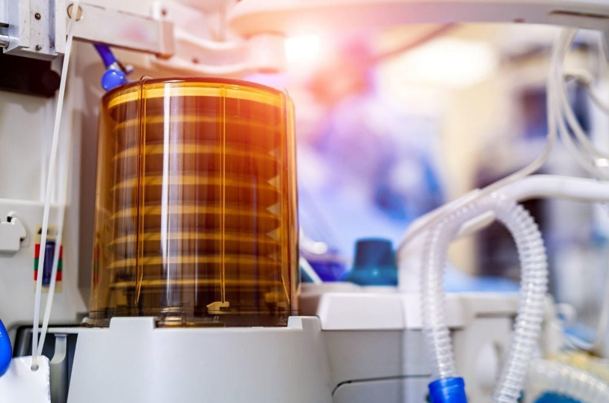 Druck UNIK 5000 sensors used to test ventilator performance