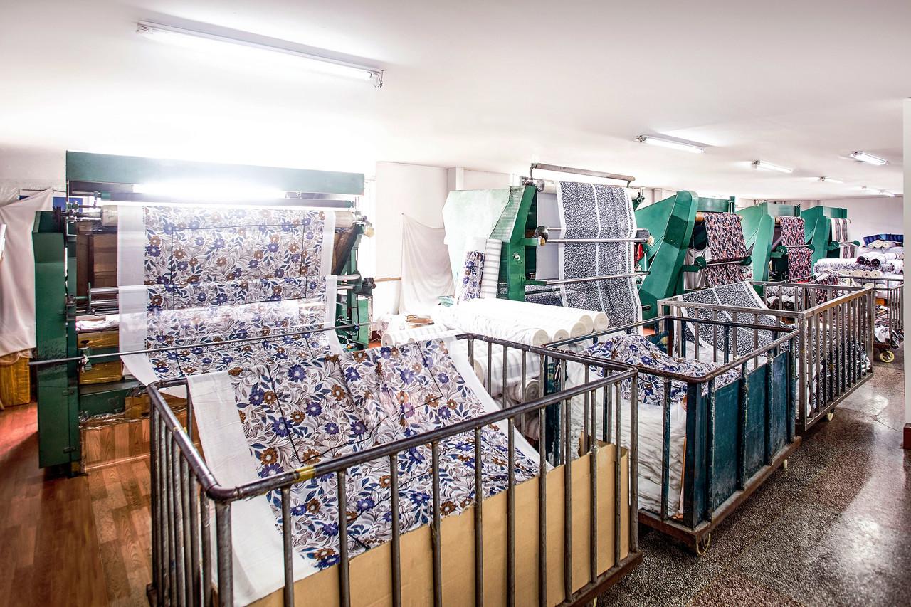 織物検査室