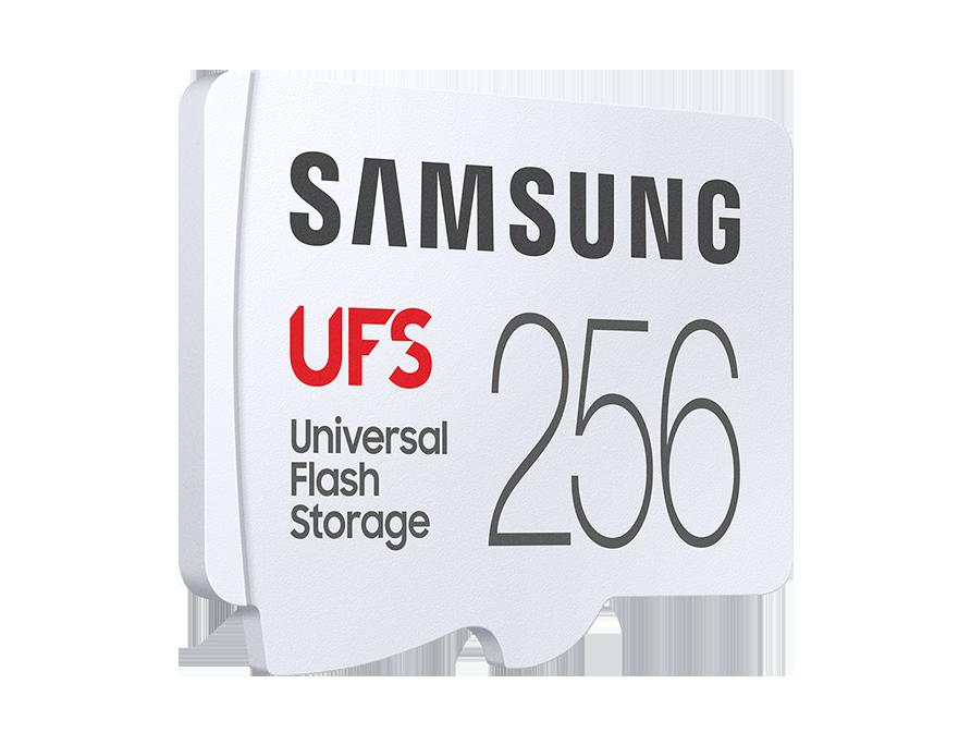 "UFS 메모리 카드 256GB<br />[MB-FA256G/APC]<br /><span style=""font-size:small; color:#737373;"">#차세대 외장 스토리지<br />#유니버설 플래시 스토리지"