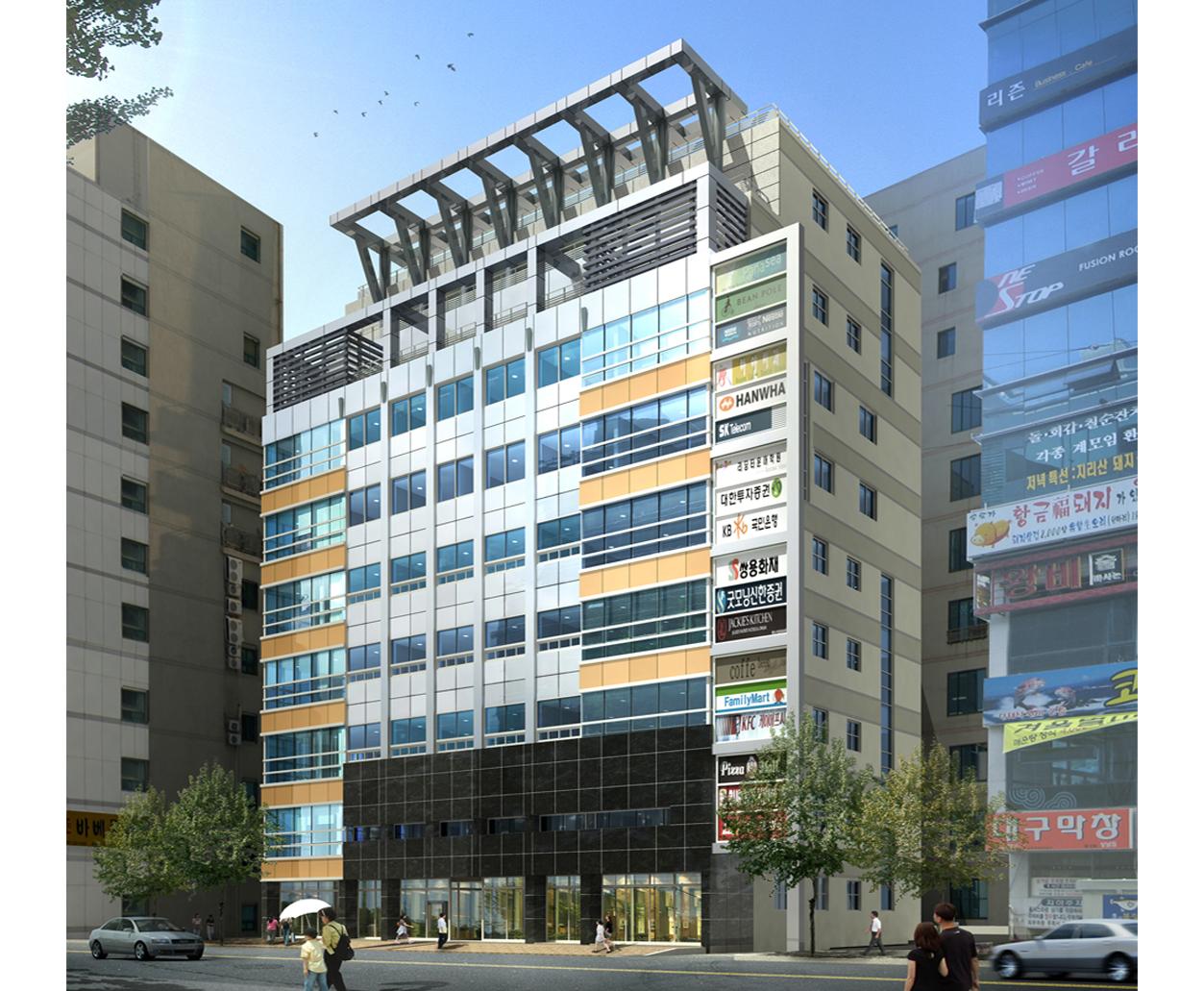 2007 상남동 빌딩