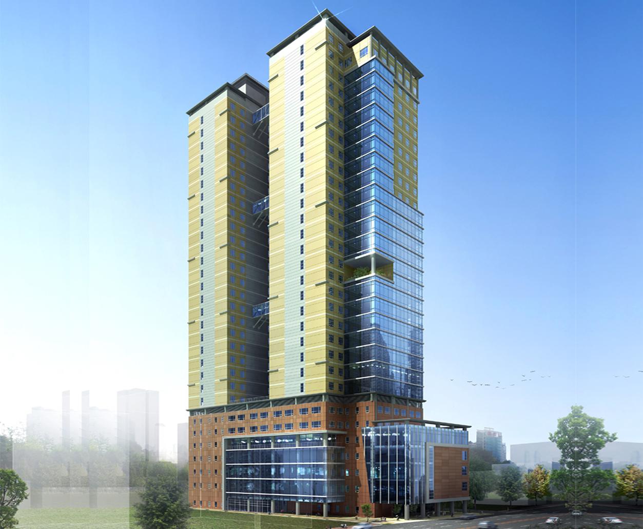 2007 중국 장춘 오피스텔 계획설계