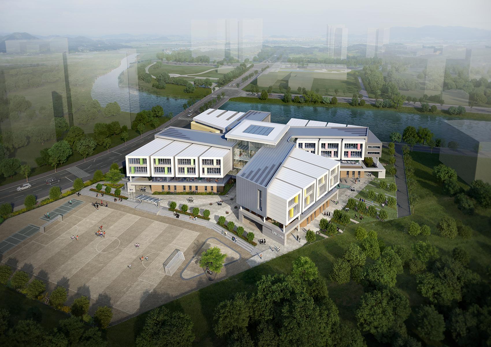 2018 웅천중학교 설계공모