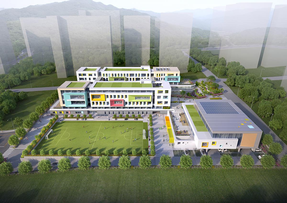 2020 사송1초등학교 설계공모