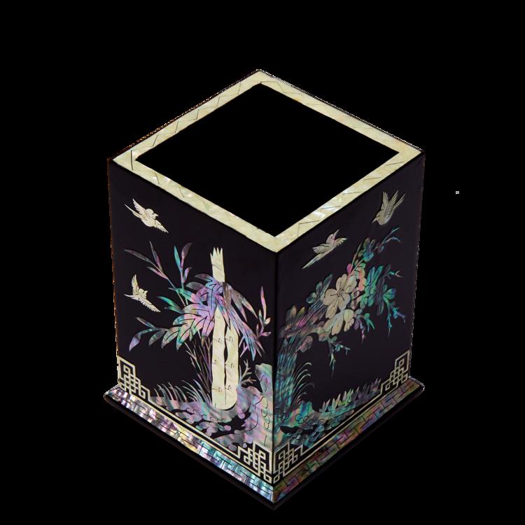 [지금은] 나전 사군자 필통(흑색) 자개명인 제작 이미지
