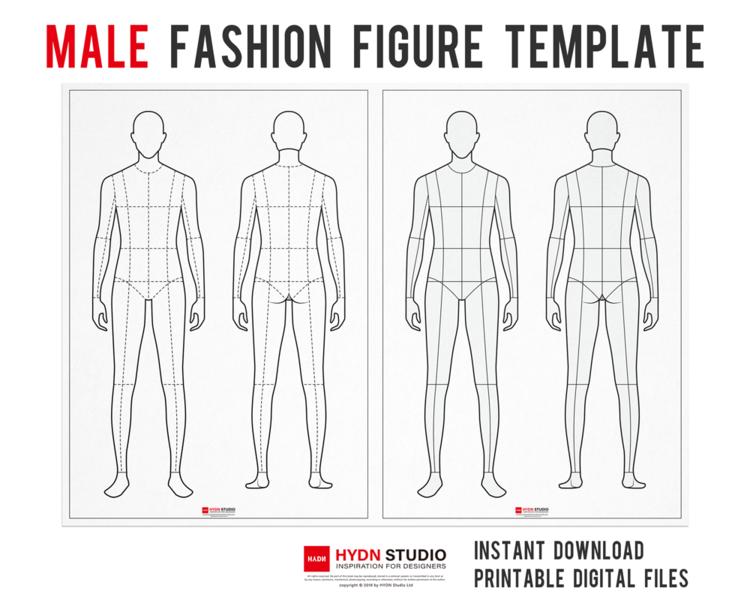 Male Fashion Figure Template For Fashion Illustration Fashion Flat Sketch Apparel Design Fashion Flats Fashion Illustration Fashion Template Hydnstudio Fashion Design