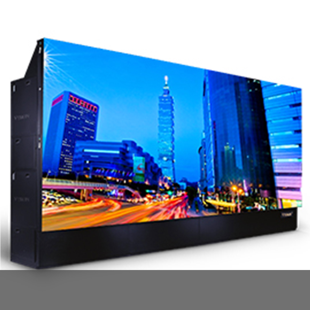 Rear-Projection Video Wall Cubes