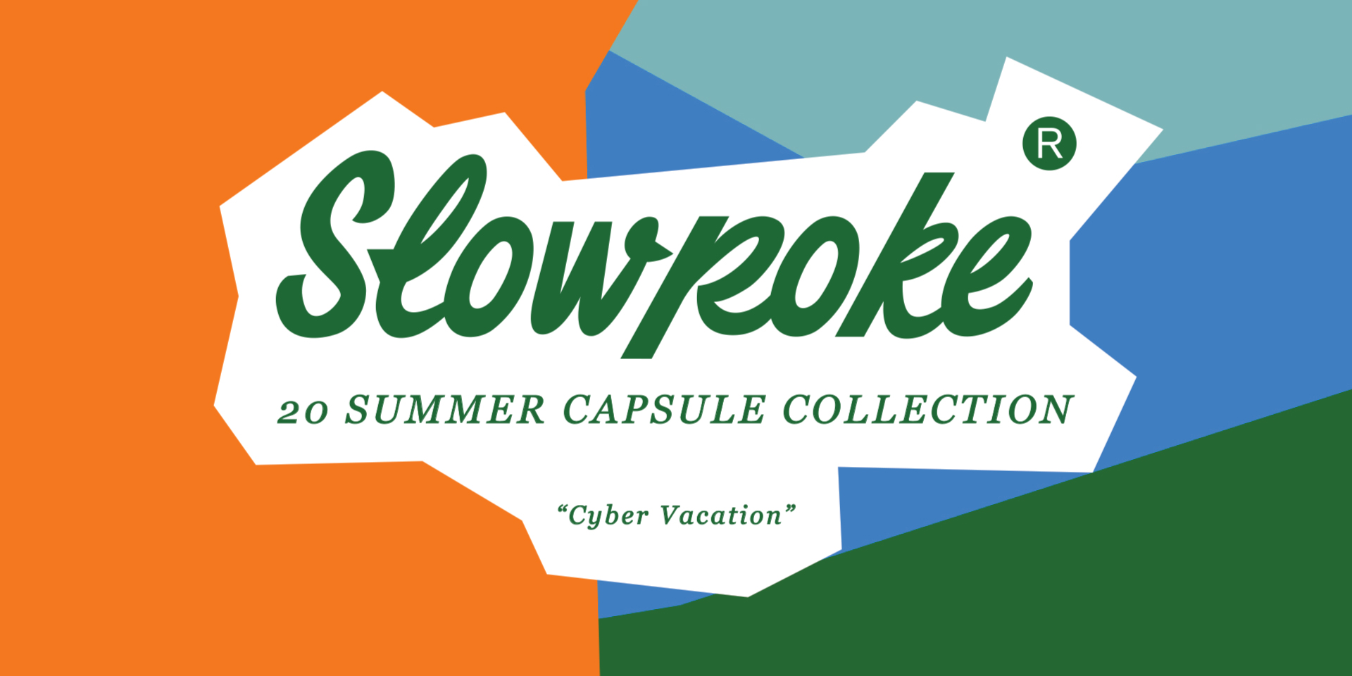 Slowpoke 2020 Summer Capsule Collection