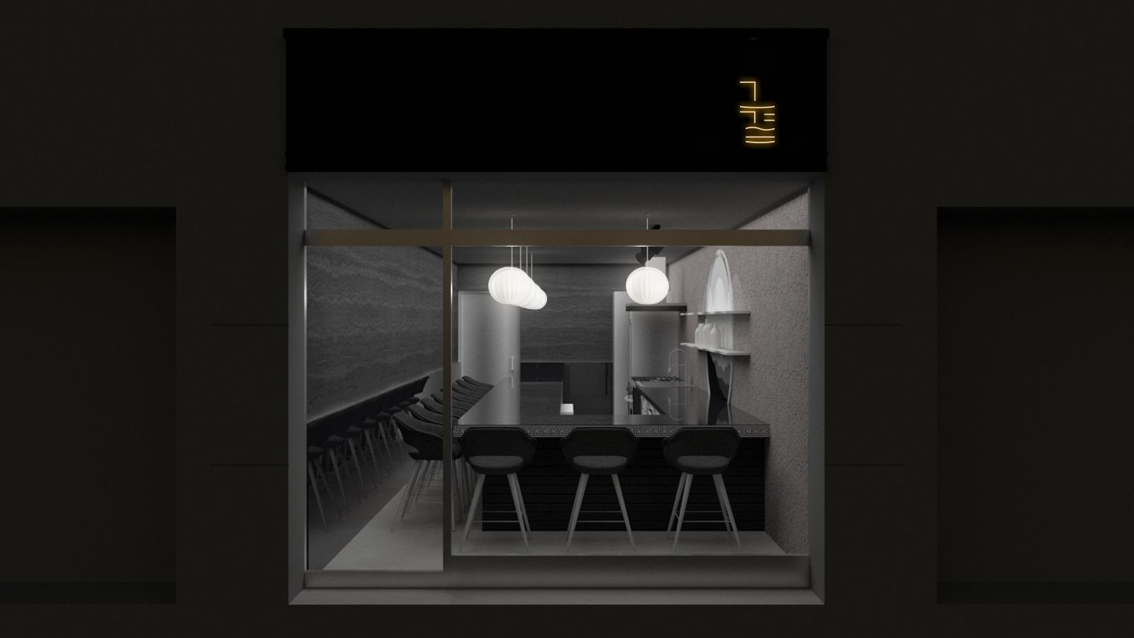 송리단길 맛집 송리단길 한식주점 로고 디자인 한식주점 로고 브랜드 디자인 송리단길 로고 인테리어 디자인