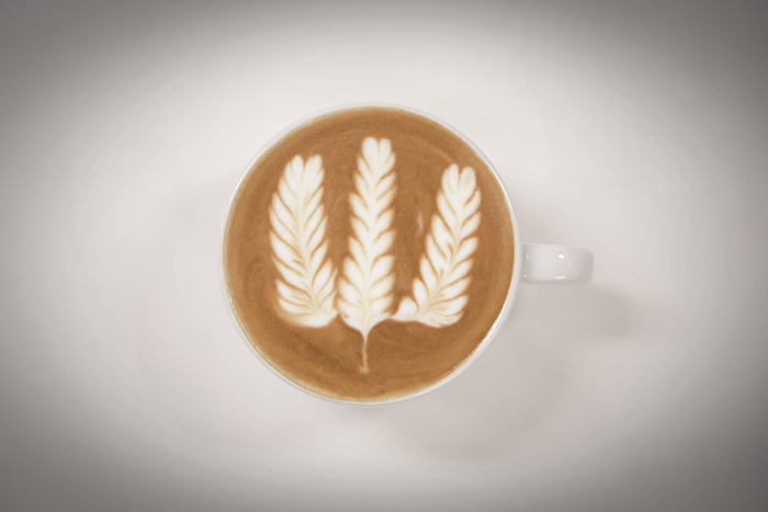 2020 World LatteArt Official Pattern 1