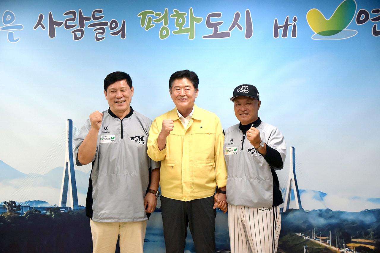 ▶허구연 KBO총재 고문 연천군수 예방