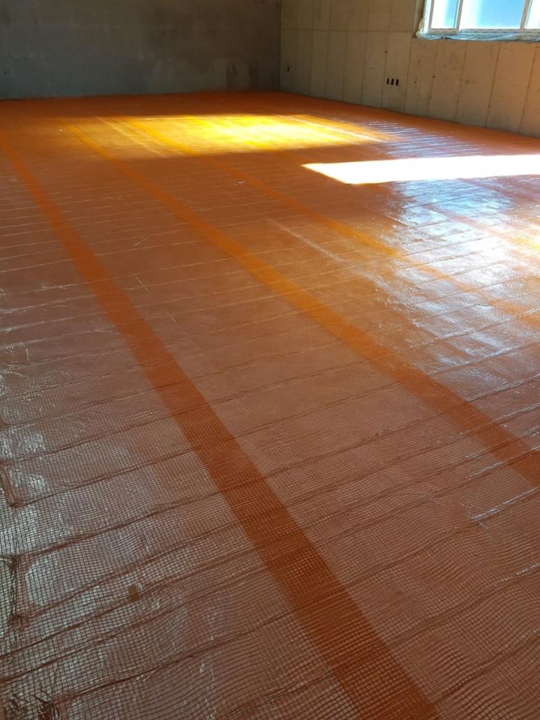6)유리섬유 매쉬 시공
