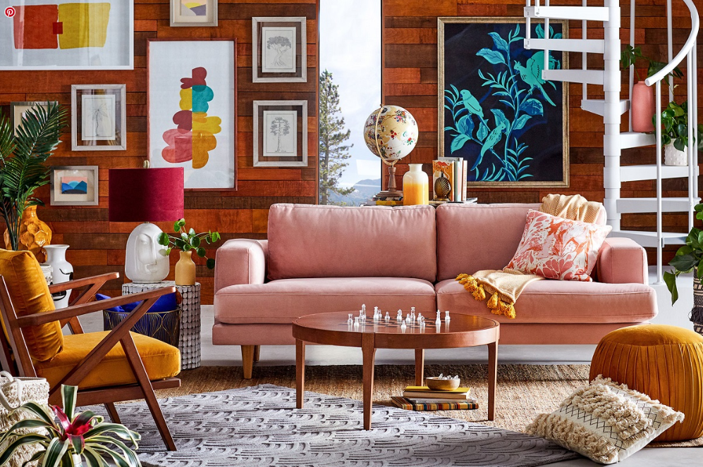 Trend Watch Yellow And Pink Interior Touches Trend Now