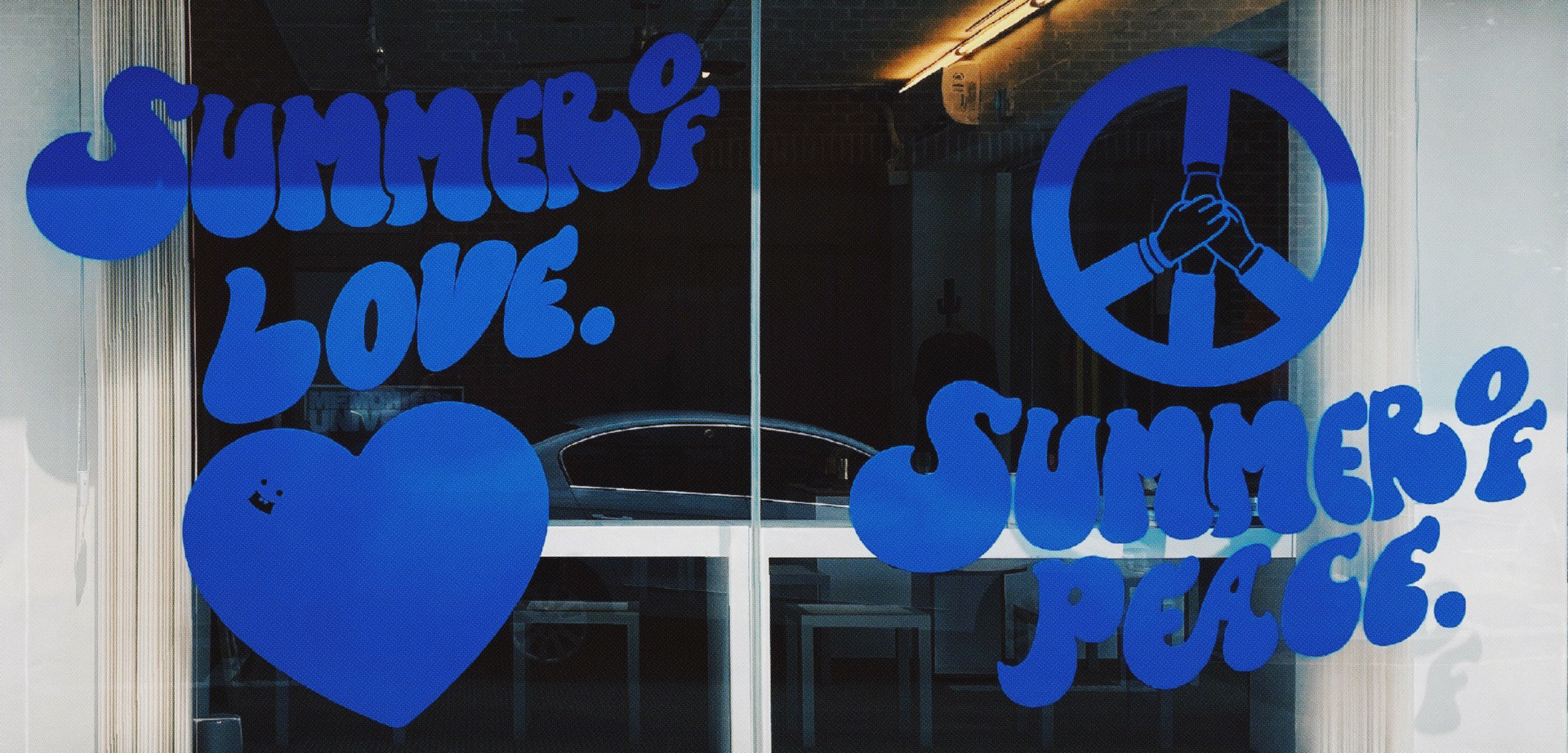 Love & Peace →
