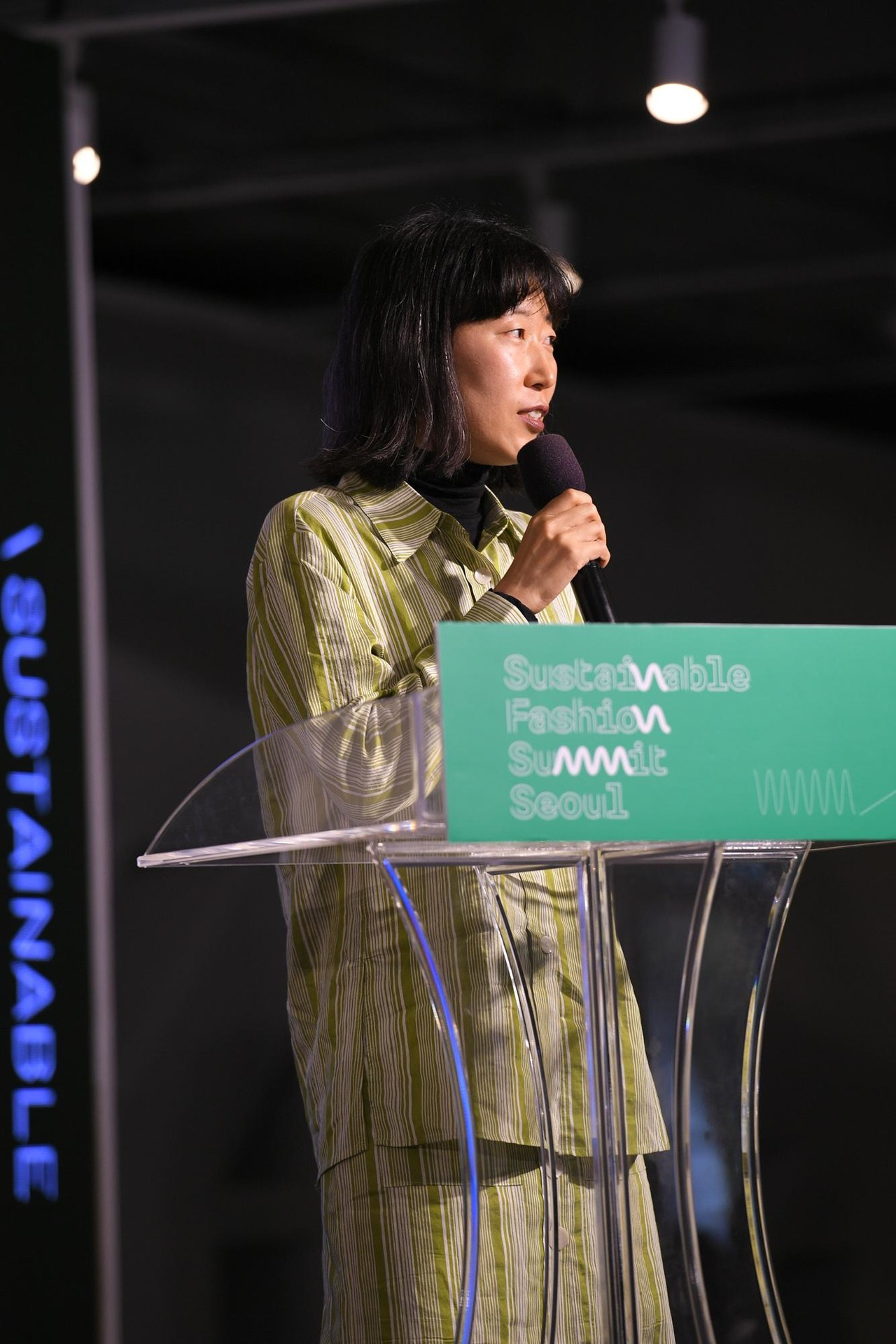 At Sustainable Fashion Summit Seoul 2019