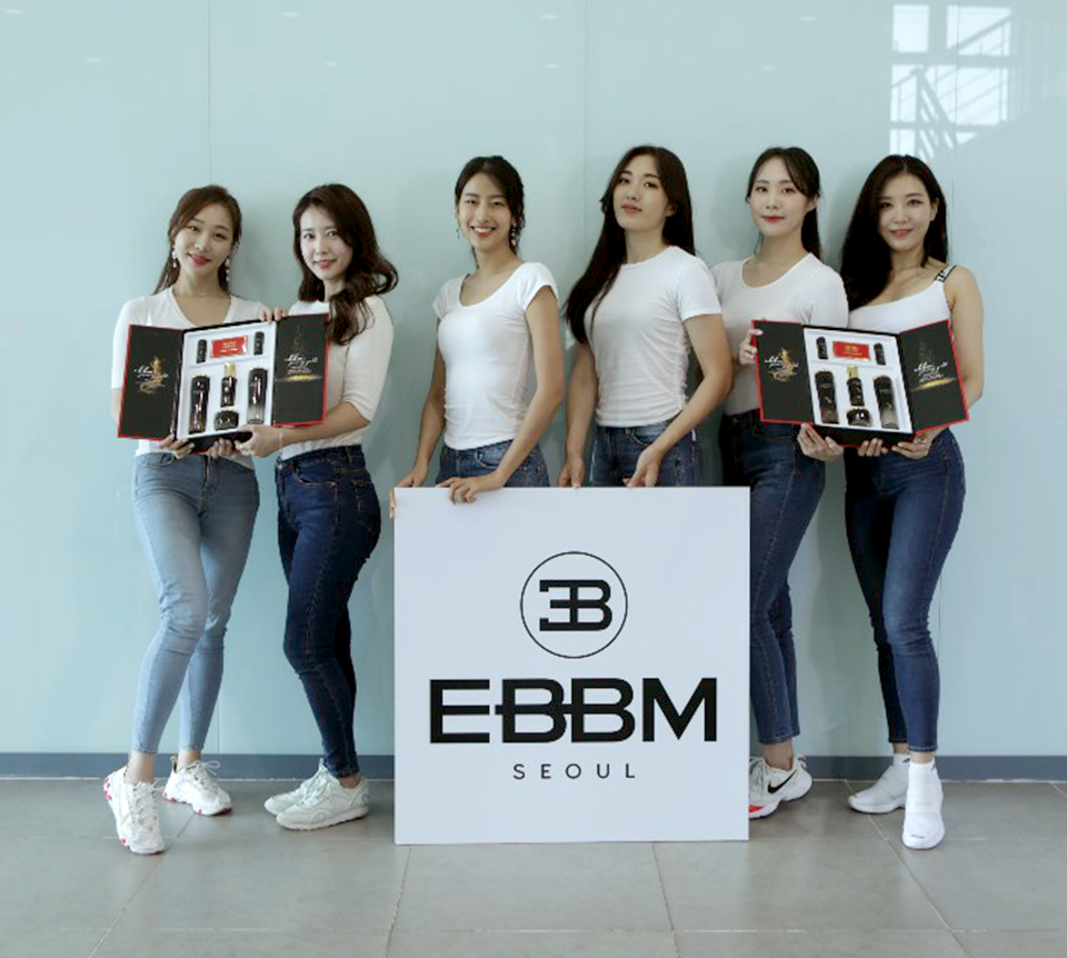 2020 MISS KOREA Official Sponsor : EBBM