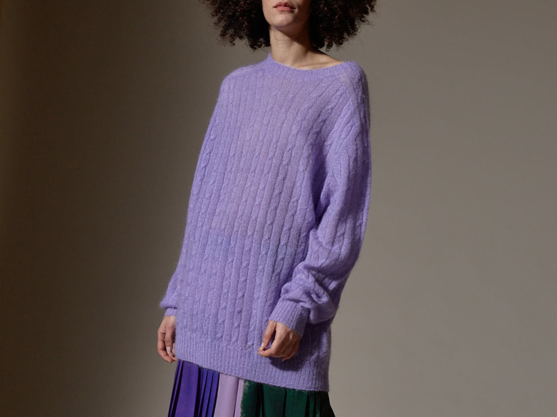 <strong>Altea 케이블 스웨터</strong><br>467,000원