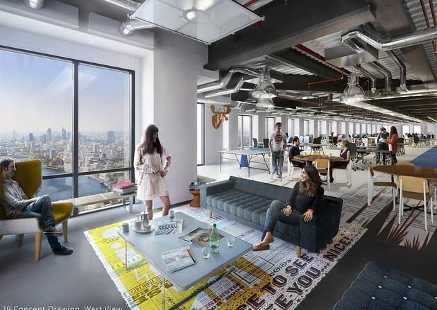 london level 39 - Co-working space