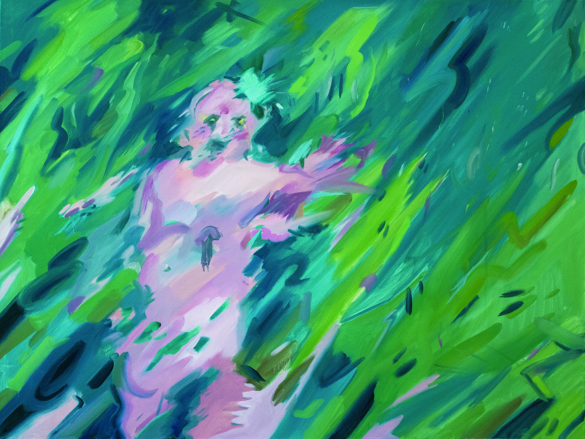 """""""wandering"""" / 48""""x36"""" / Oil on canvas"""