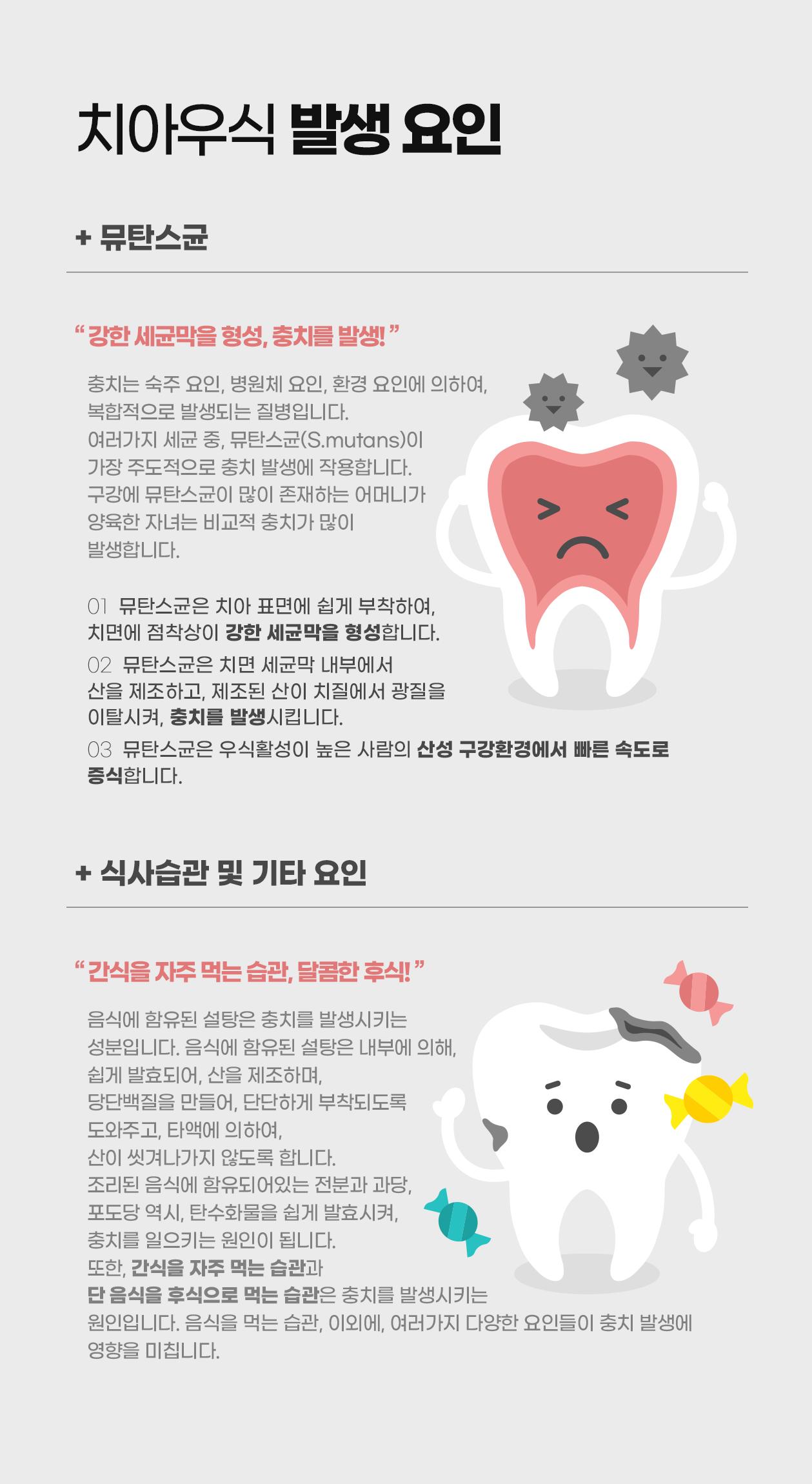 치아우식 발생 요인