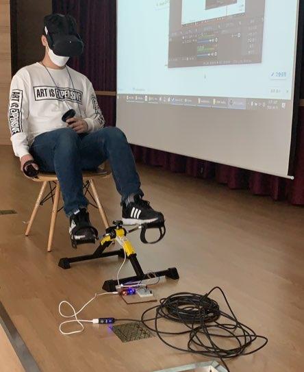 """""""따릉이VR"""" / OCULUS QUEST BASED VR BIKE RIDING"""